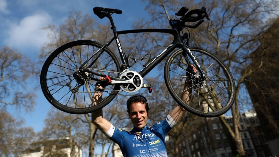 Endurance cyclist Mark Beaumont in April, three months before he started his record-breaking circumnavigation of the globe.