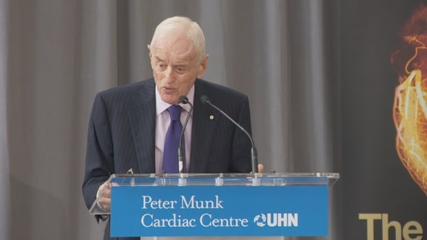 Peter Munk, the founder of Barrick Gold, has donated more than $175 million to fund the Peter Munk Cardiac Centre through his foundation since 1993.