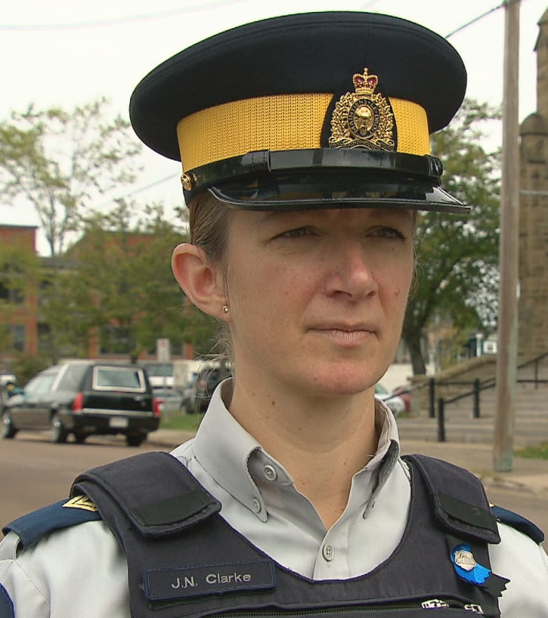 cbcc32c54862b Cpl. Jennifer Clarke says the RCMP and family of Const. Deschenes  appreciate any show of support from the public.