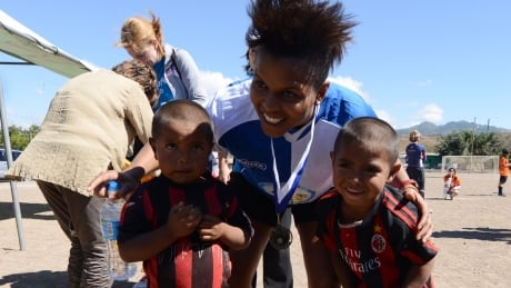 UNICEF role has allowed Canada's Karina Leblanc to find her 'why'