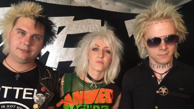 Ottawa punk band Zex members Gab Hole Gretchen Steel and Jo Capitalicide have been dropped by their record label just as an album mix-up had thrust them into the international spotlight