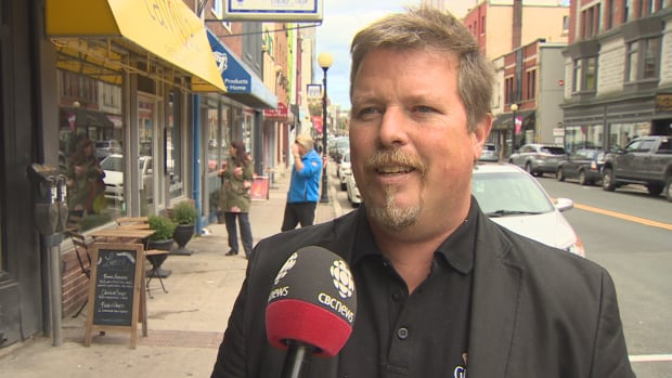 St. John's resident Bob Hallett hasn't received his ballot yet. 'The biggest gobshite maw-mouth in the city can't vote,' he says.