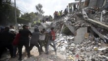 Magnitude 7.1 earthquake hits Mexico