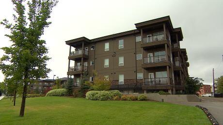 Greystone Heights condo building