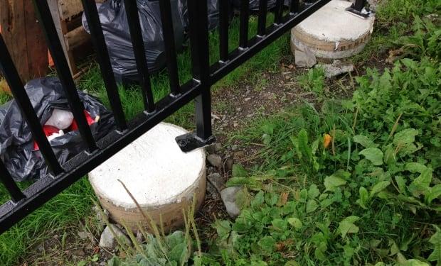 Posts Victoria Park concrete foundation
