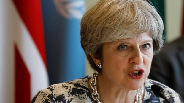 'Terrorist groups are aware that links to their propaganda are being removed more quickly, and are placing a greater emphasis on disseminating content at speed in order to stay ahead,' British Prime Minister Theresa May is expected to say at the UN General Assembly on Wednesday.