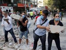 Mexico-quake-debris-removal