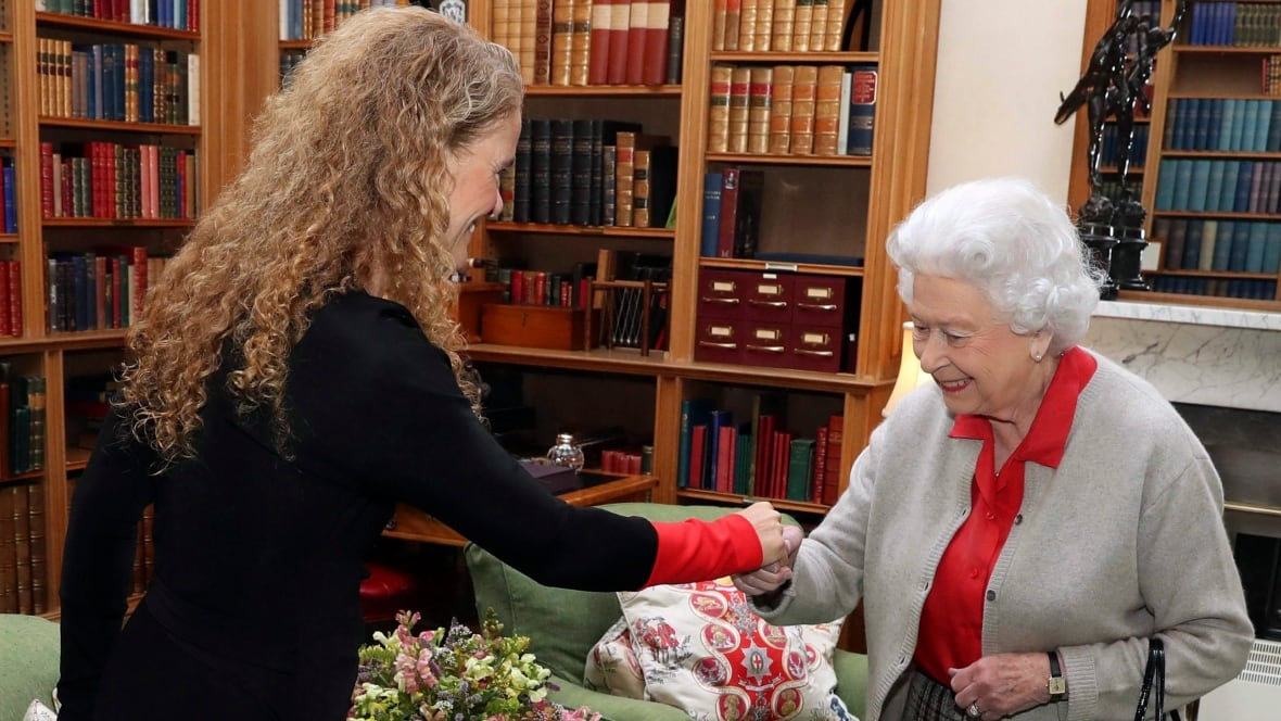 Incoming governor general Julie Payette meets the Queen
