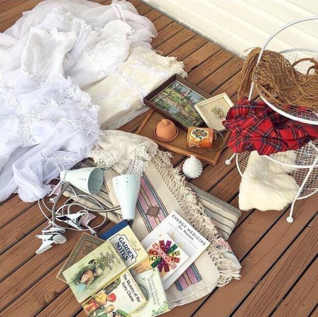 yard sale finds via Instagram
