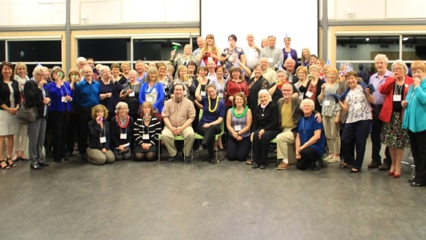 Coastal Sounds Community Choir gathered for a 10th anniversary gala in May.