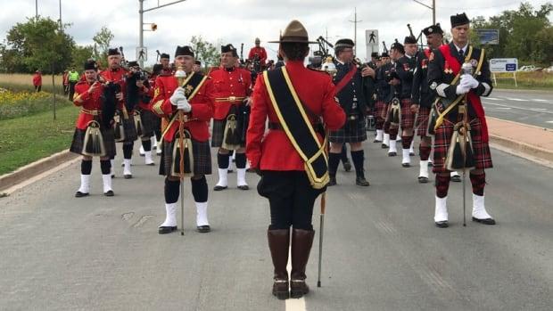 Const. Frank Deschênes funeral procession