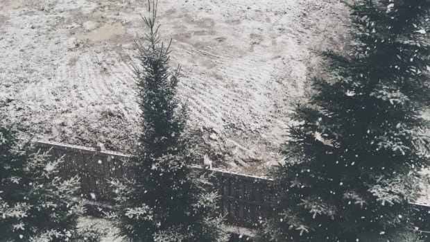 Snow in September was met with plenty of grumbling on social media.