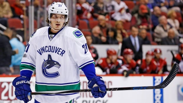 Forward Loui Eriksson's tenure with the Vancouver Canucks started on a sour note last season.
