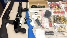 Sylvan Lake guns and drugs bust