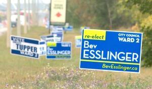 Edmonton Campaign Signs