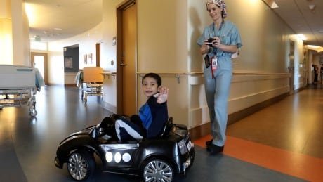 Beep, beep! Kids drive luxury mini cars to operating room thumbnail
