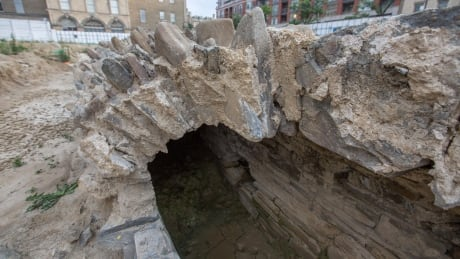Toronto St. Lawrence Market historic drain