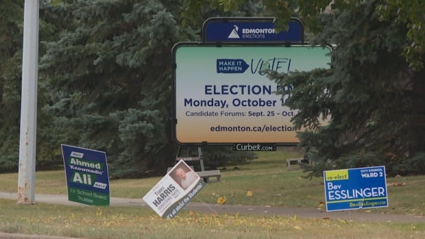 The Edmonton municipal election is October 16.