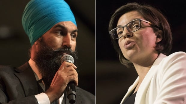 NDP leadership candidates Jagmeet Singh and Niki Ashton have been ensnared by a controversy over accusations of domestic violence directed at the newly elected leader of the Manitoba NDP, Wab Kinew. Ashton's father Steve Ashton lost the provincial leadership contest to Kinew last weekend.