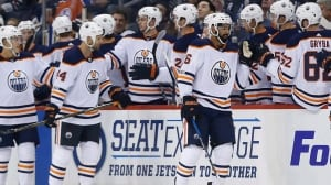 Oilers ride strong 2nd period to win over Jets