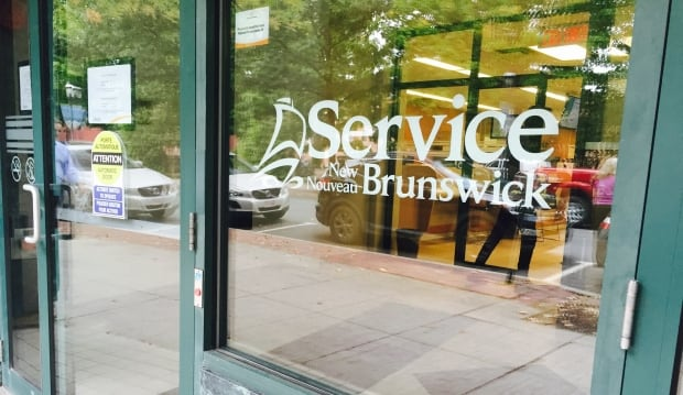 Service New Brunswick in Fredericton