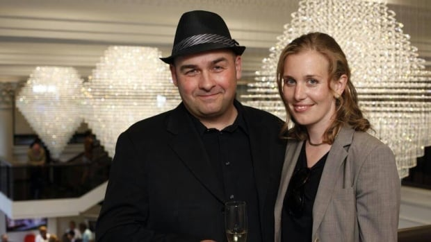 Dave Hanley is seen here with his wife Nicole at the 2014 grand opening of the renovated lobby at the Royal Connaught in downtown Hamilton.