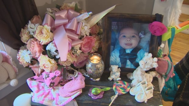Baby Myla was eight days shy of five months old when she suddenly stopped breathing on May 13.