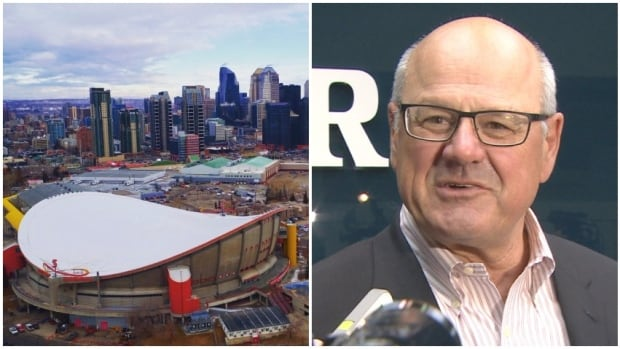 Calgary Sports and Entertainment Corporation president Ken King says the company has walked away from negotiations with the city and has no plans to return.