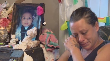 Her baby died without explanation the day before Mother's Day
