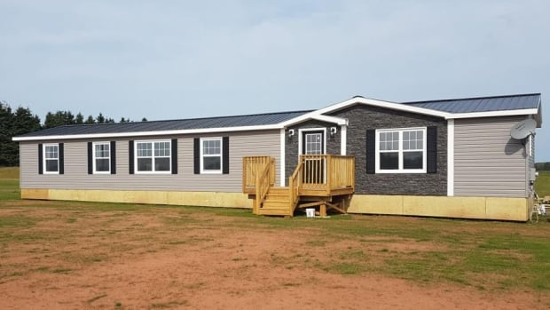 Matt Darrach, owner of P.E.I. Low Energy Homes, says it takes about 22 days to build a mini-home from scratch.
