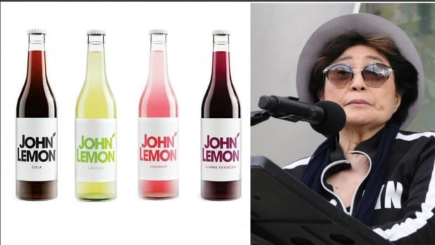 After the threat of legal action from John Lennon's widow, Yoko Ono, a Polish beverage company is re-branding its John Lemon drinks.