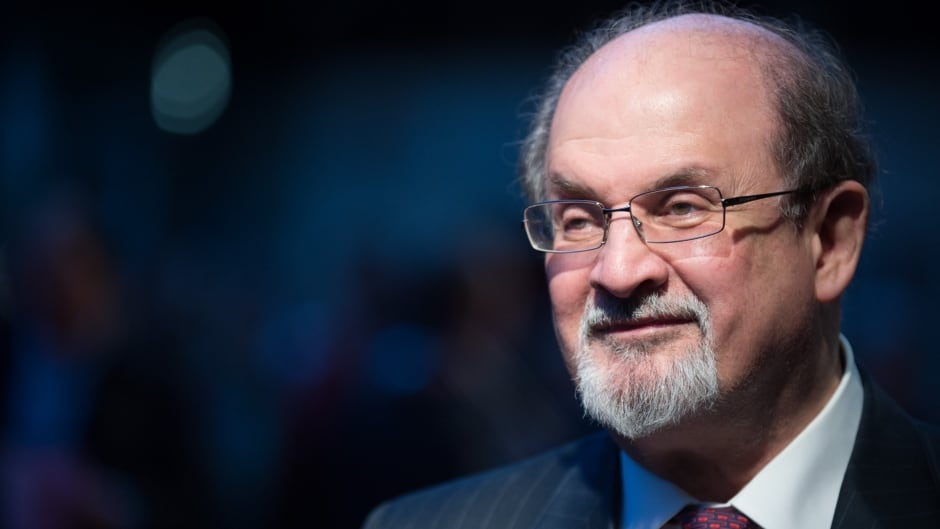 Salman Rushdie attends the premiere of 'Midnight's Children' during the 56th BFI London Film Festival at Odeon West End on October 14, 2012 in London, England.