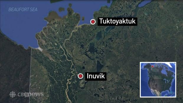 Inuvik to Tuktoyaktuk