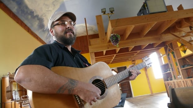 Jody Weger restored the church in Beresford, Man., and hopes to turn it into a space the community can use for music lessons, jam sessions and small concerts.