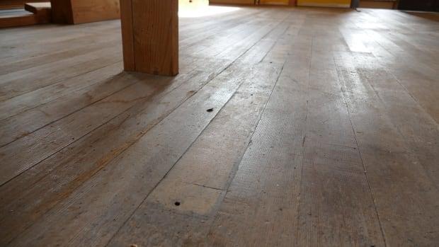 Beresford church floor