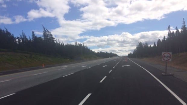 Six of the 13 passing lanes along the Trans-Canada Highway in Terra Nova National Park opened Friday, Sept. 22.