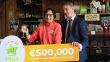 Irish lottery ticket
