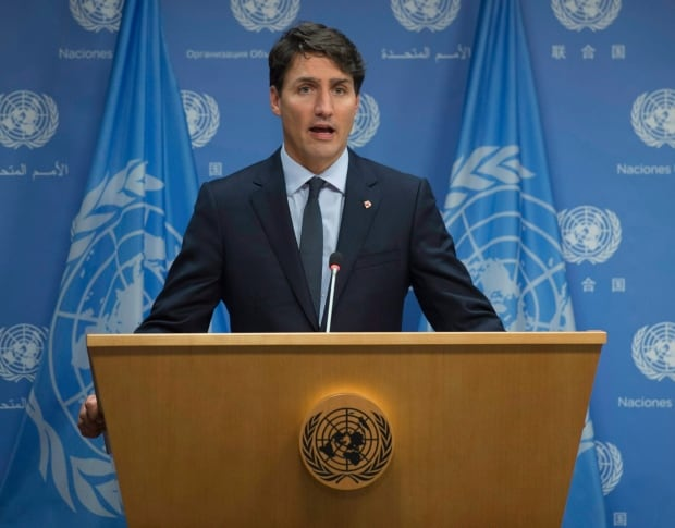 Justin Trudeau New York United Nations Security Council