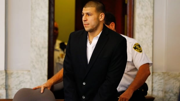 Former NFL star Aaron Hernandez killed himself in April in the jail cell where he was serving a life-without-parole sentence for a 2013 murder.