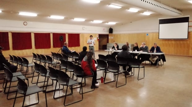 Behchoko marijuana meeting
