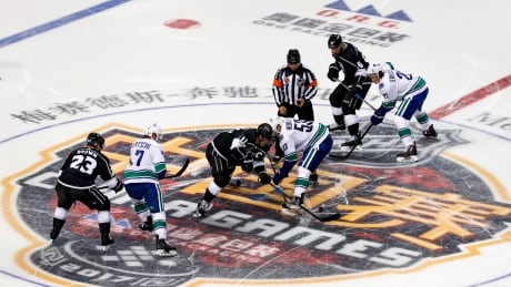 Shanghai fans eat up Canucks-Kings pre-season China spectacle