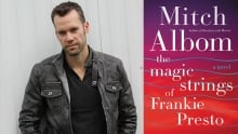 Bedside Books: Chad Brownlee on The Magic Strings of Frankie Presto by Mitch Albom