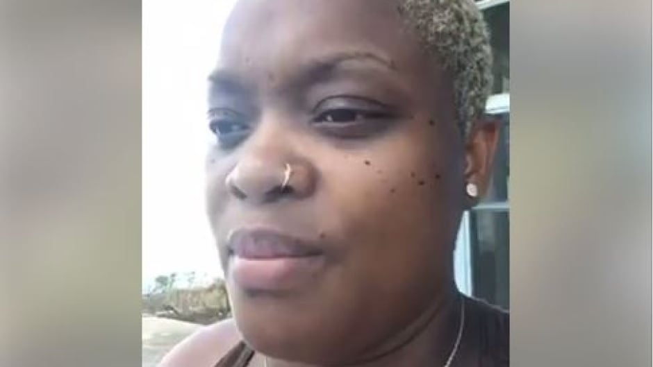 Canadian citizen Jael Joseph is worried she will run out of food and water for her and her family in Dominica.