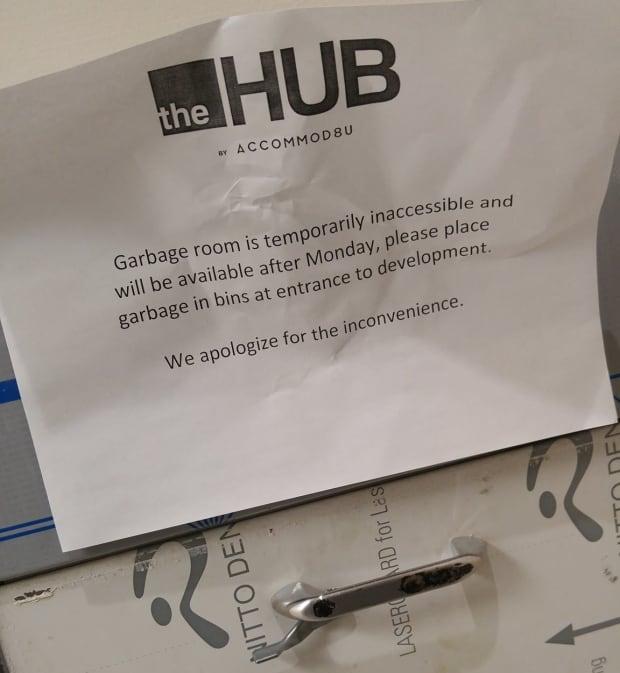 TheHub garbage chute