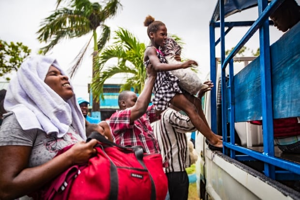 UNICEF Haiti Hurricane Irma