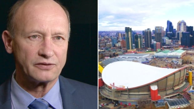 Andre Chabot says there was likely a middle ground that could have been found between the city and Flames' proposals for new arena.