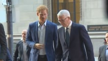 Prince Harry arrives at Invictus Games