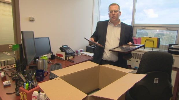 Steve Kent spent the week clearing out his office at Confederation building but he isn't ruling out a political comeback down the road.