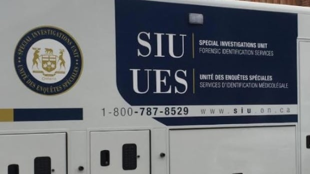 SIU vehicles were seen outside a Lloyd Street home in Sudbury on Thursday.