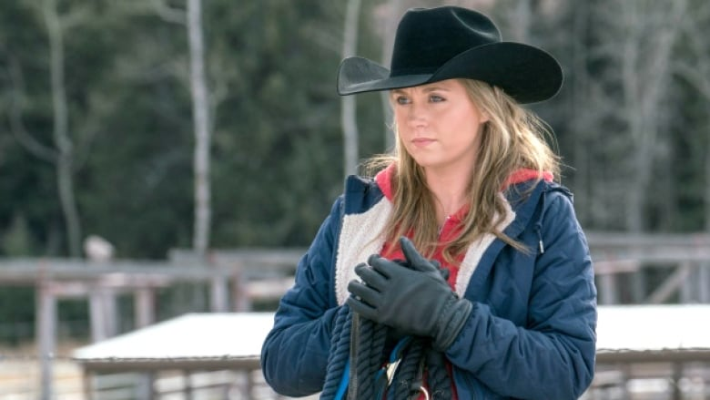 Amber Marshall stars as Amy Fleming in Heartland, an ...